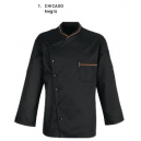 Chaqueta Cocina Bragard Chicago Negro