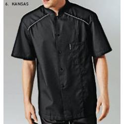 Chaqueta Cocina Kansas Blanca