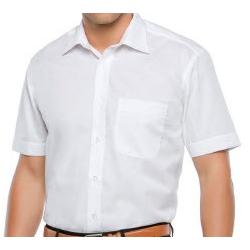 Camisa Blanca Caballero Manga Corta