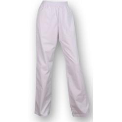 Pantalón elástico blanco