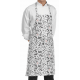 Delantal peto estampados Chefwear