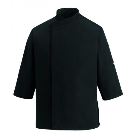 Chaqueta Cocina 3/4 Sleeves Negro