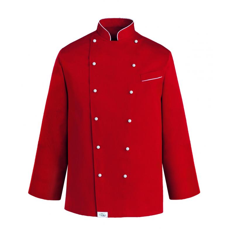 Chaqueta Cocina Color Rojo